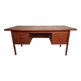 Mid-Century Modern Teak Desk For Sale