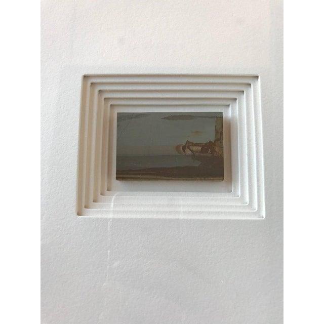 Italian 21st Century Custom Framed Paesan For Sale - Image 3 of 6