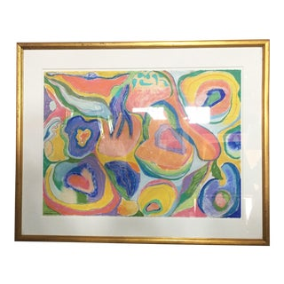 Susan Harris Original Pastel Abstract Painting