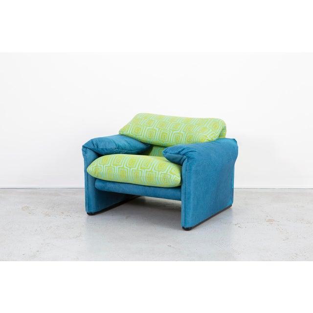 Vico Magistretti Maralunga Chair + Ottoman For Sale In Chicago - Image 6 of 11