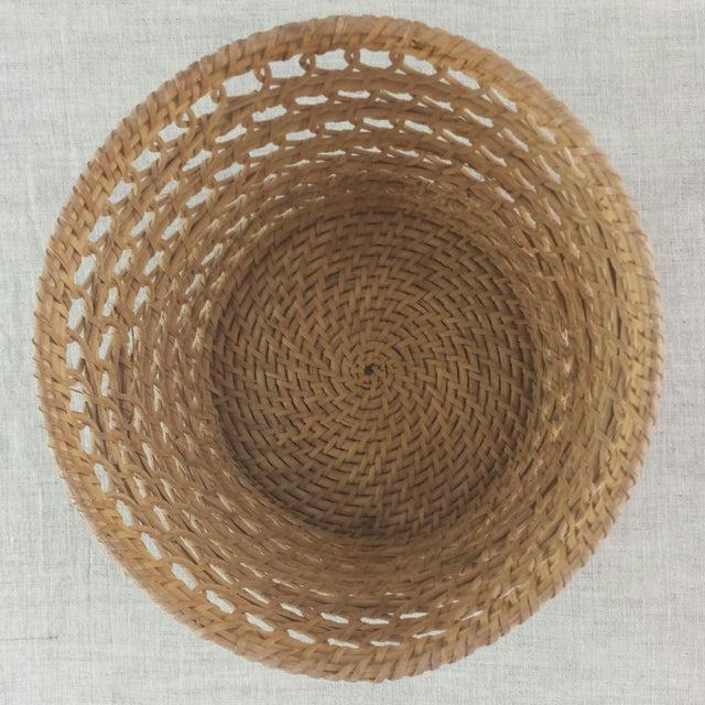 Bamboo Woven Basket - Image 5 of 6