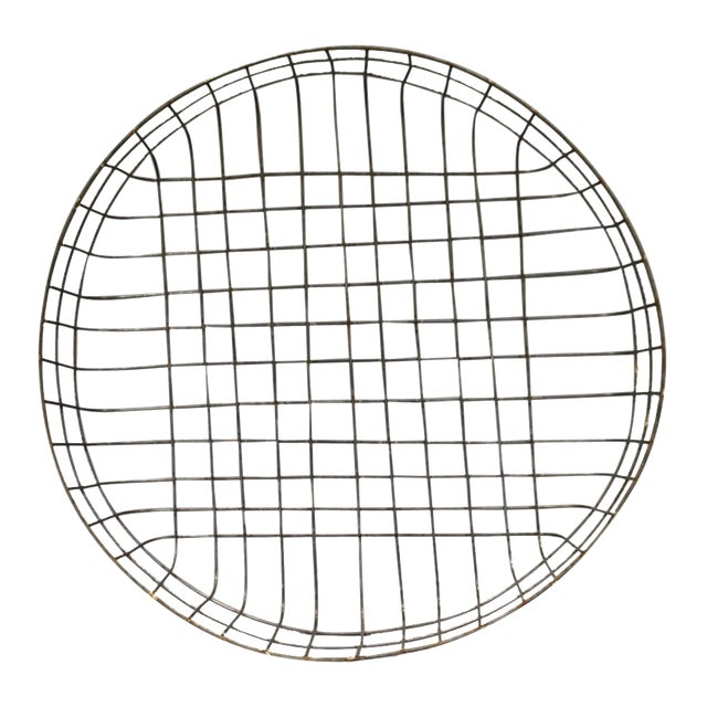 Large Reproduction Wire Basket - Image 1 of 5