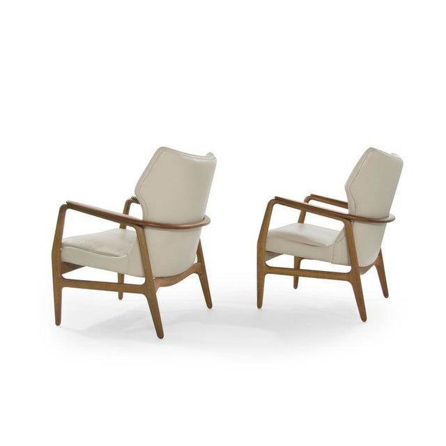 Bovenkamp Teak Lounge Chairs by Aksel Bender Madsen for Bovenkamp - a Pair For Sale - Image 4 of 13