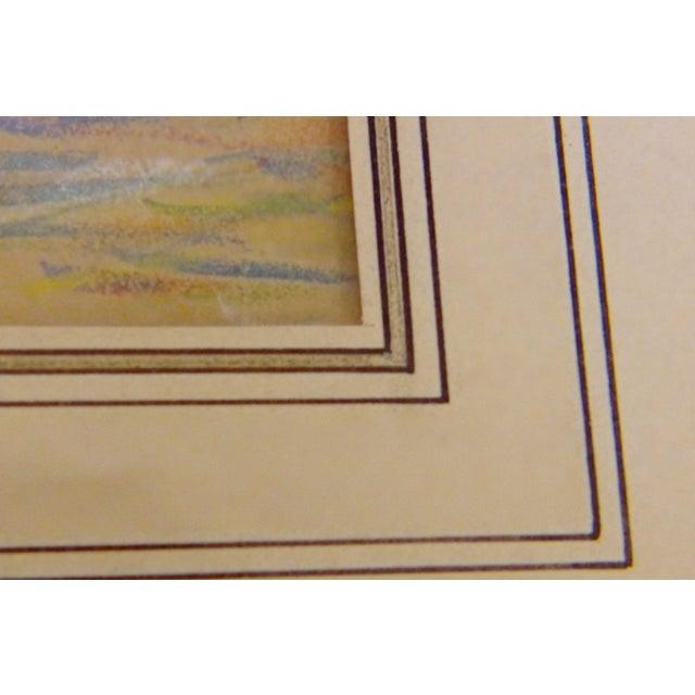 "Green ""Rockport"" Signed Dated Original by ReynoldsBeal For Sale - Image 8 of 9"
