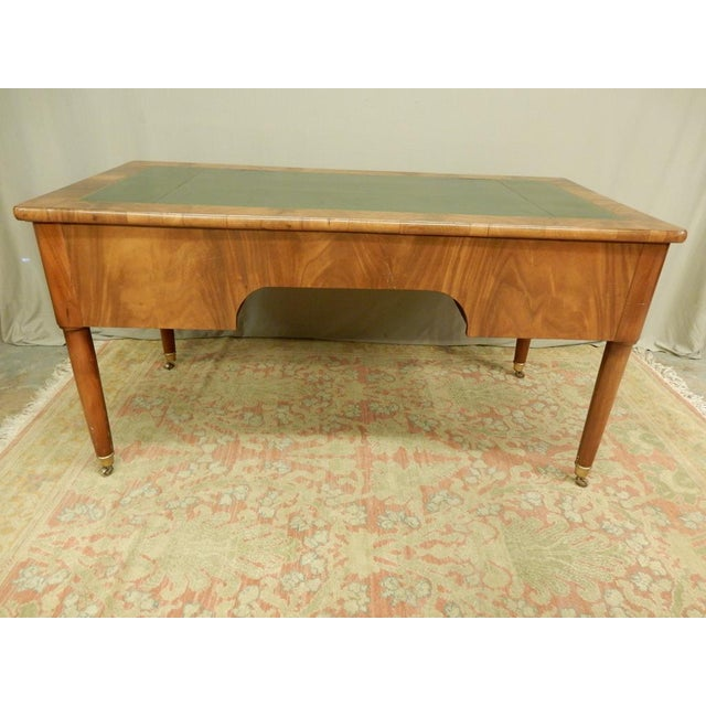 Early 19th Century Elegant Louis XVI 19th Century Walnut Desk For Sale - Image 5 of 11