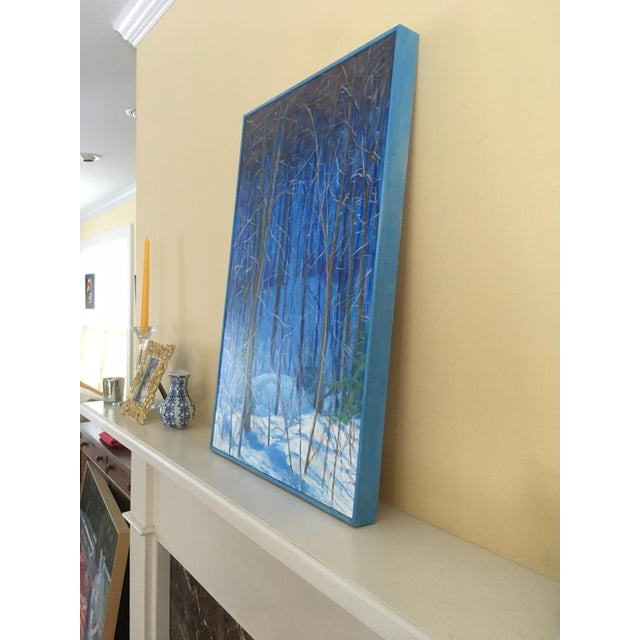 "Stephen Remick Contemporary Painting ""Up and Into the Mountains of Vermont"" For Sale - Image 10 of 13"