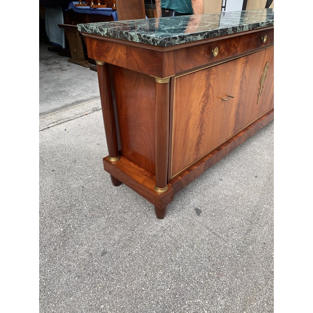 1900s French Empire Antique Sideboard For Sale - Image 9 of 13