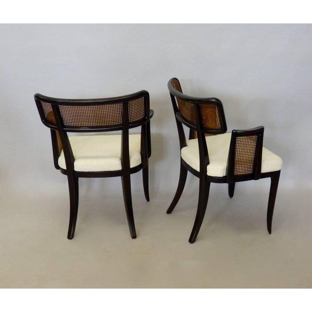 1950s Four Edward Wormley for Dunbar Dining Chairs For Sale - Image 5 of 7