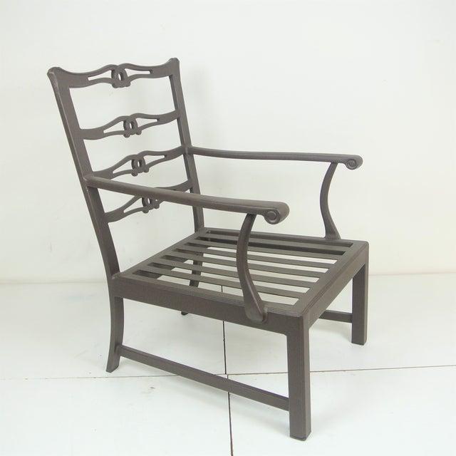 Arlington Club Chair W/ Custom Fit Sunbrella Cushion - Image 2 of 8