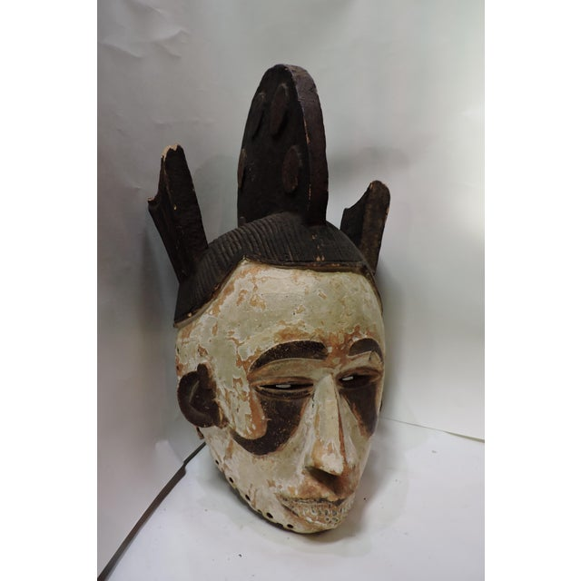 Ceremonial Mask From The Igbo Tribe of NIgeria - Image 2 of 5