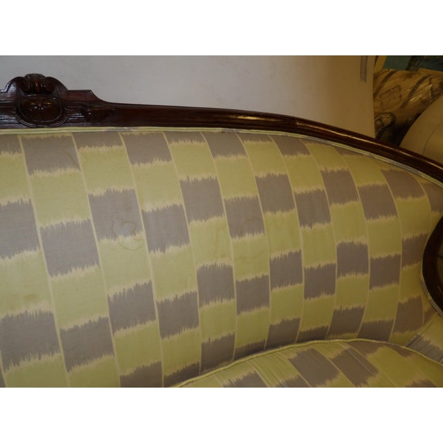 Chippendale Early 20th Century Antique Settee For Sale - Image 3 of 11