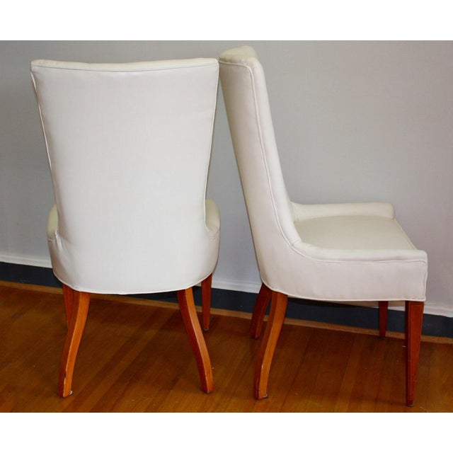 "Fabulous set of French Art Deco style side/accent chairs from Nashville area ""downsizing"" sale. Purchased via estate..."