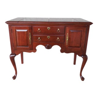 "Pennsylvania House Cherry Flip Top Server 40""W"