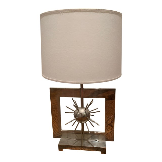 Spiked Accent Table Lamp For Sale