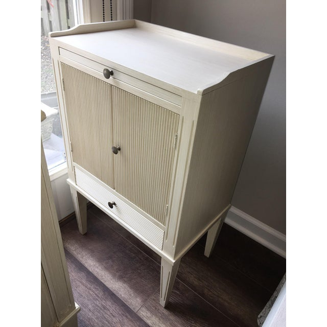 Swedish Nightstand With Pull-Out Desk - Image 5 of 6