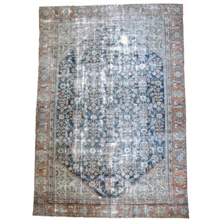 1920's Antique Persian Mahal Rug-8'x11'5' For Sale