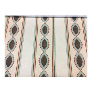 "Nina Campbell's Broadway Collection ""Showboat"" Fabric - 2 Yard Piece For Sale"