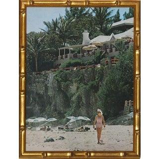 """Slim Aarons """"The Coral Beach Club Bermuda"""""""