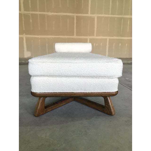 Wood 20th Century Mid Century Modern Paul Laszlo for Brown Saltman Sculptural Chaise For Sale - Image 7 of 13