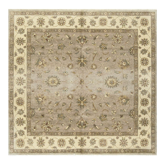 Traditional Hand Woven Rug 7'10 X 7'11 For Sale