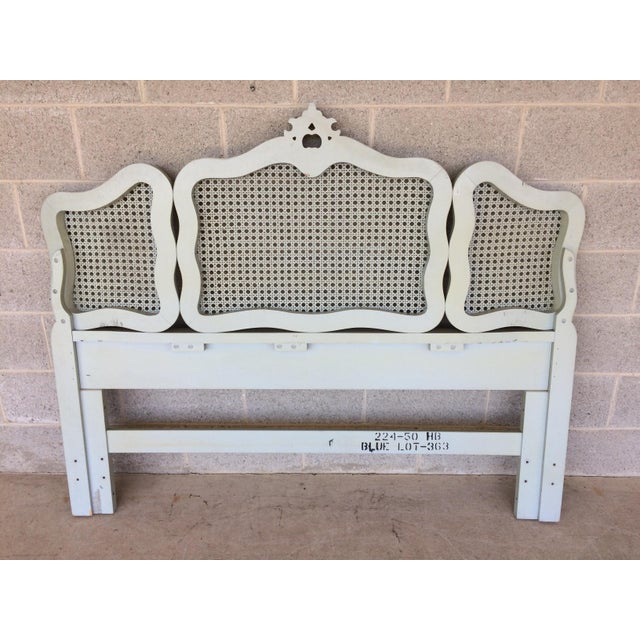 Hickory White French Provincial Queen/ Double Headboard - Image 7 of 8