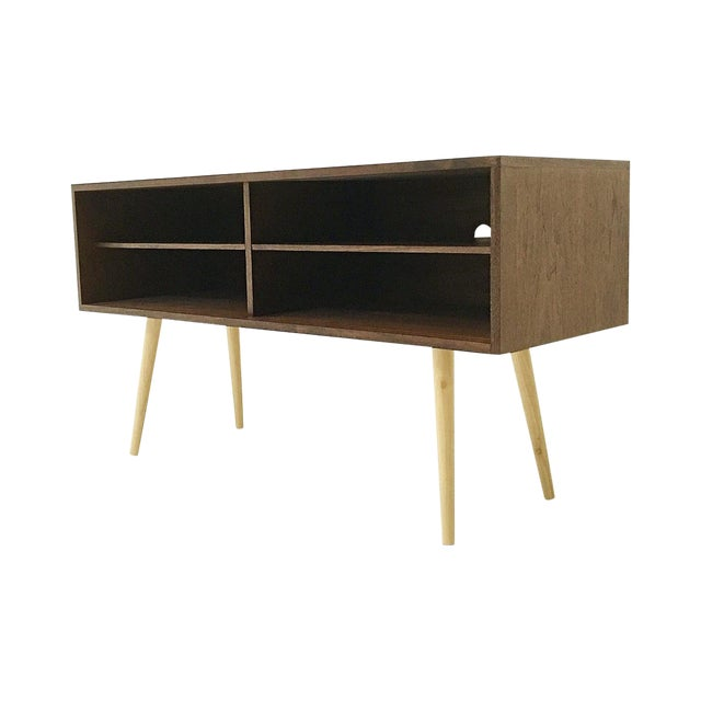 Mid-Century Style Media Console - Image 1 of 3