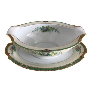 "1940s Noritake China ""Leandro"" Gravy Bowl For Sale"
