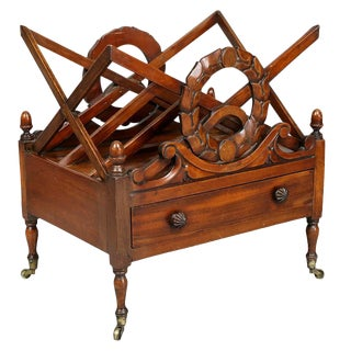 William IV Mahogany Canterbury For Sale