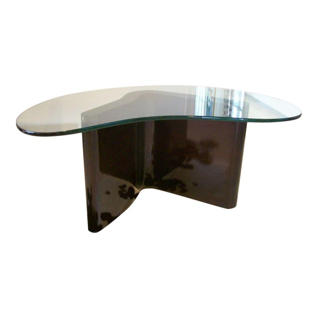 Art Deco Boomerang Cocktail Table For Sale
