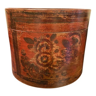 Early 20th Century Antique Wooden Chinese Storage Bin For Sale