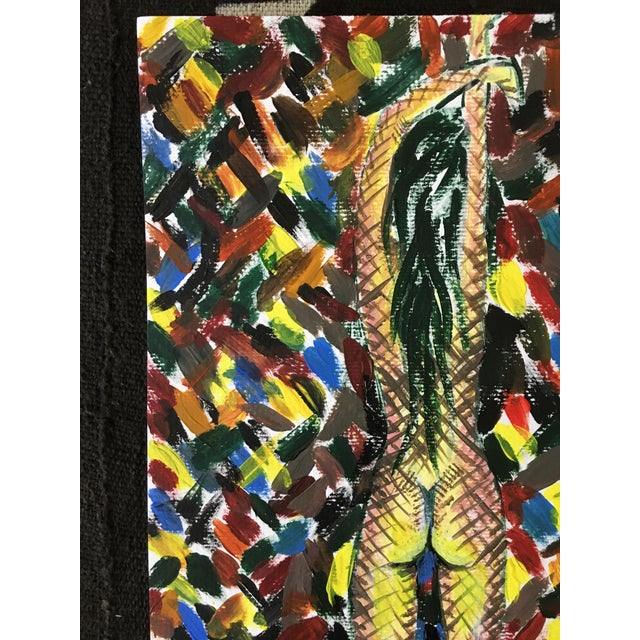 """""""Contained"""" Nude Abstract Postmodernism Painting - Image 3 of 3"""