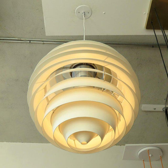 Louis Poulsen 1960s Poul Henningsen Ph Louvre Pendant Light For Sale - Image 4 of 11