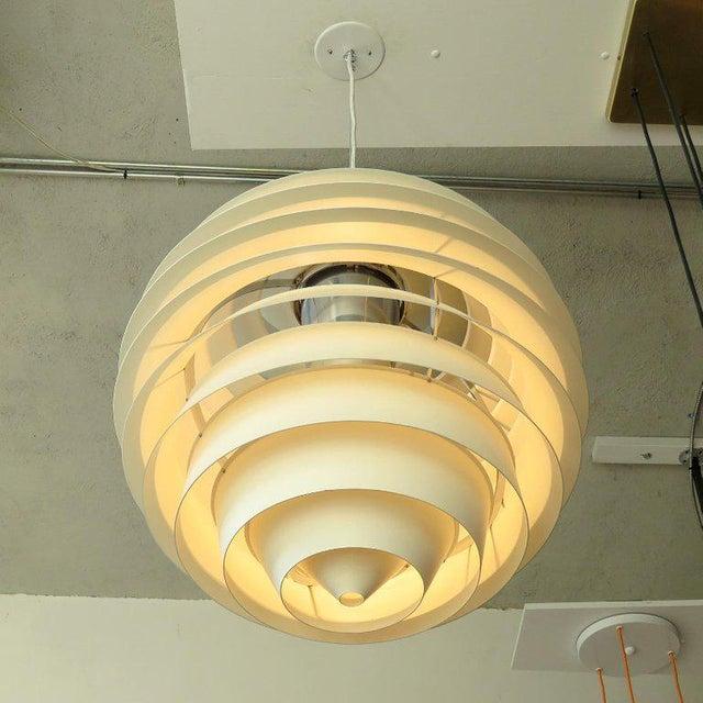 Louis Poulsen 1960s Poul Henningsen Ph Louvre Pendant Light For Sale - Image 4 of 11