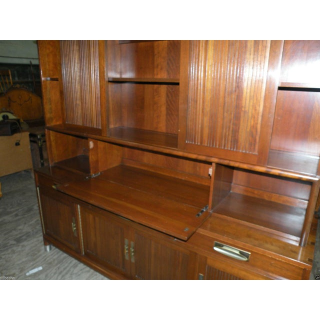 Willett Trans East Mid Century Bookcase Cabinet - Image 6 of 7