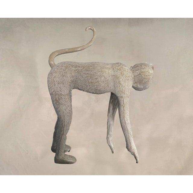 Claude Lalanne Large Modernist Monkey Sculpture, Manner of Lalanne For Sale - Image 4 of 6