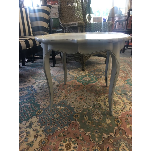French White Coffee Table - Image 3 of 6