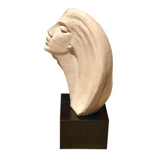 Austin Productions by David Fisher Stargazer Female Bust Sculpture For Sale