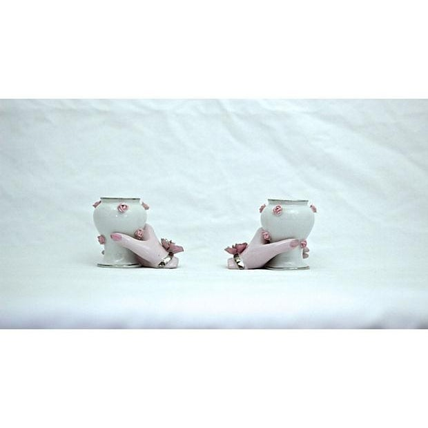 Holding Hands Vases - A Pair - Image 7 of 7