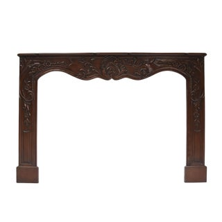 French Louis XV Style Mantel