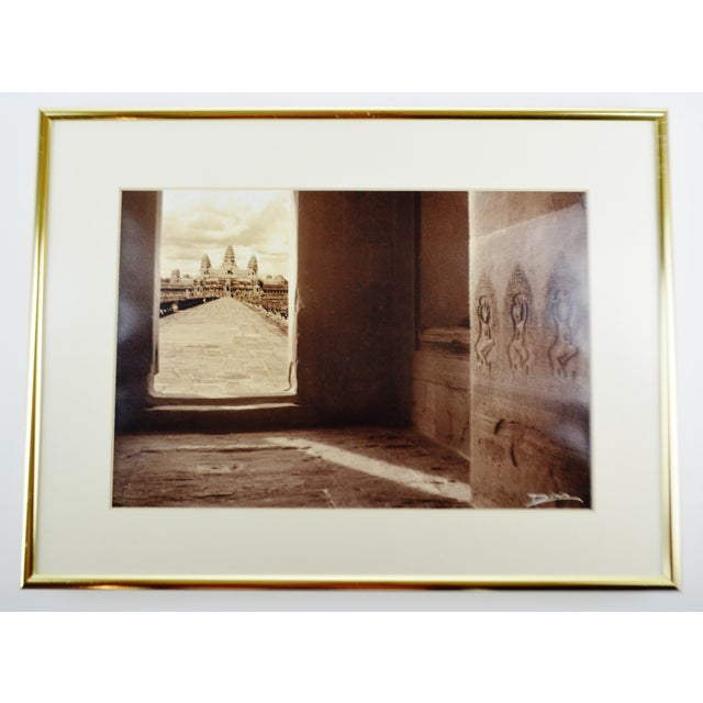 Contemporary Thierry Diwo Framed Cambodian Photography Art - Set of 4 For Sale - Image 3 of 13