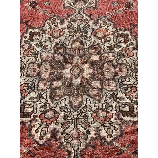 Islamic 1960s Vintage Persian Hamadan Rug - 4′5″ × 6′6″ For Sale - Image 3 of 13