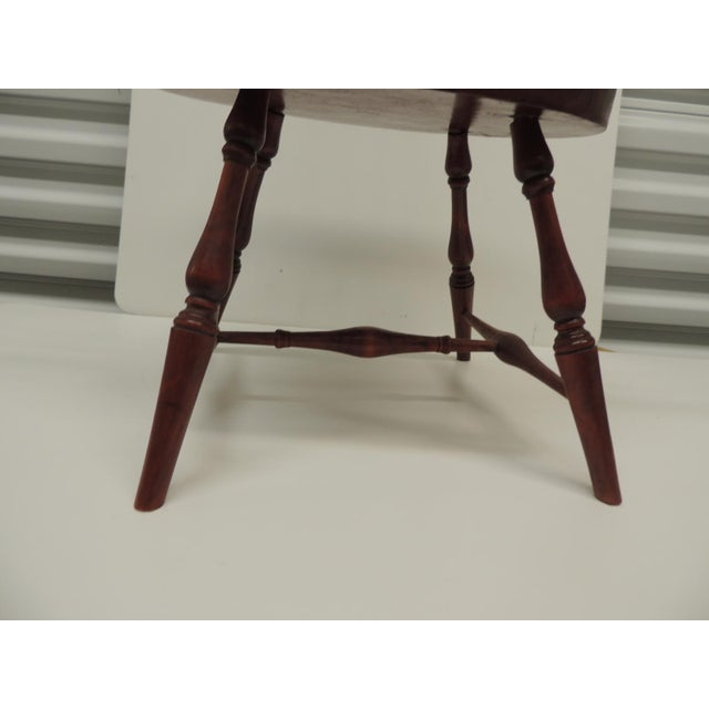 American Classical Vintage Child's Windsor Arm Chair For Sale - Image 3 of 7