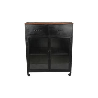 Adela Accent Cabinet With Glass Door For