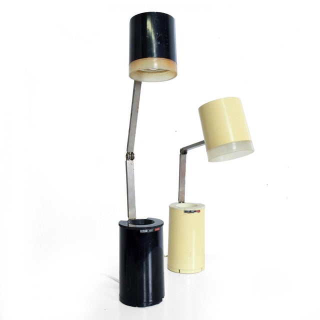 Pair of Lloyds Task Table Lamps, Mid Century Modern For Sale - Image 10 of 10