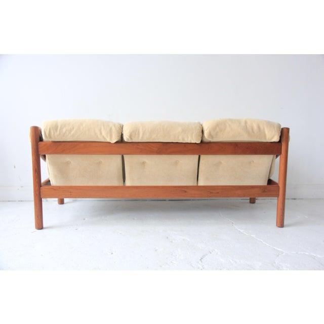 Vintage Mid-Century Modern Domino Mobler Tufted Sofa For Sale - Image 5 of 5