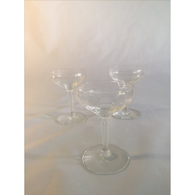Antique Champagne Glasses - Set of 3 - Image 5 of 6