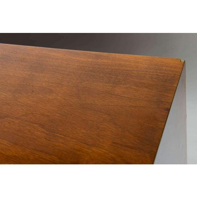 Walnut Borsani Style Cabinet For Sale - Image 7 of 12