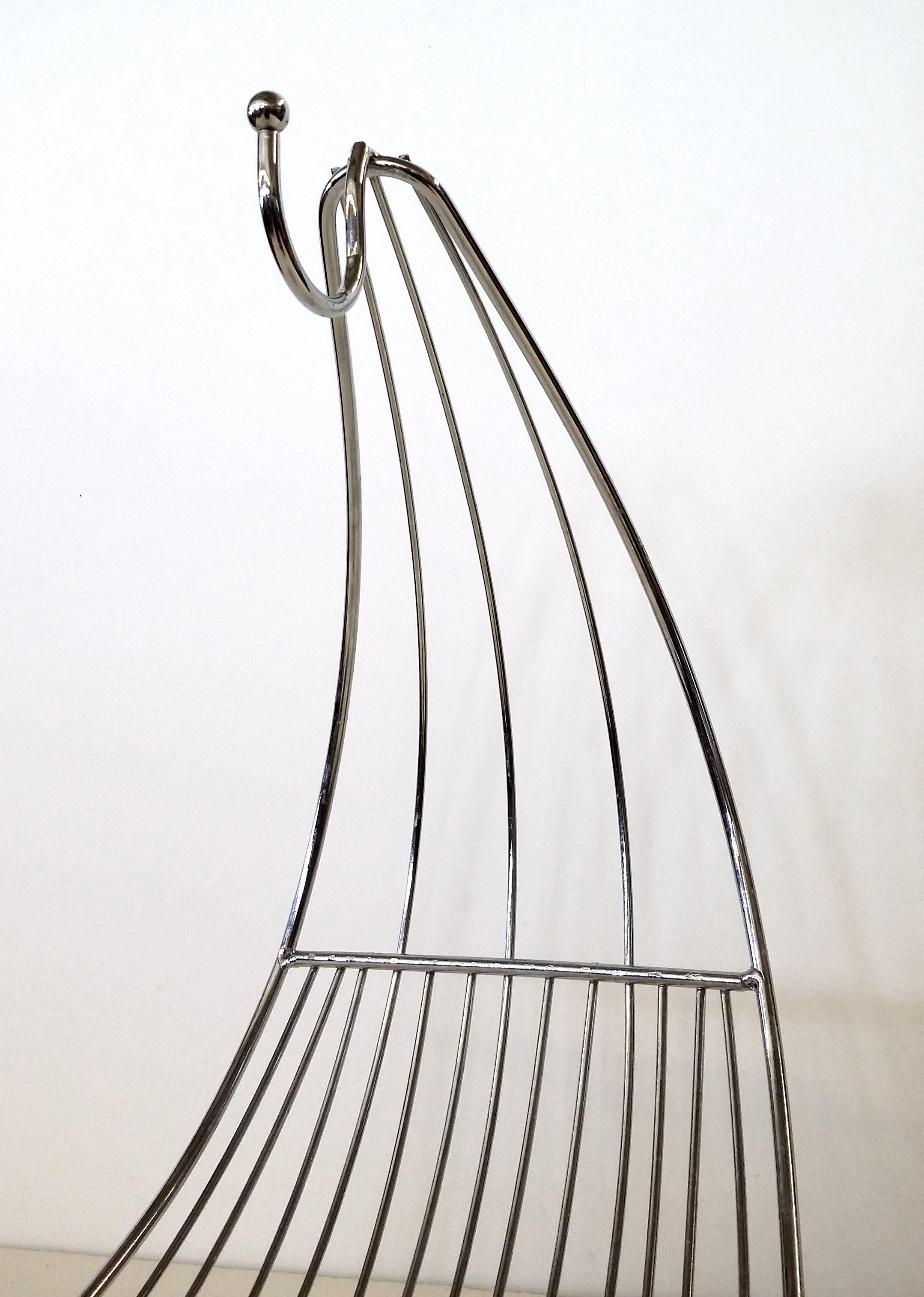 stainless steel banana hammock  u0026 fruit holder   image 3     stainless steel banana hammock  u0026 fruit holder   chairish  rh   chairish