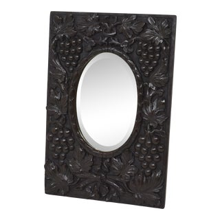 "19th-Century ""Black Forest"" Wall Mirror For Sale"
