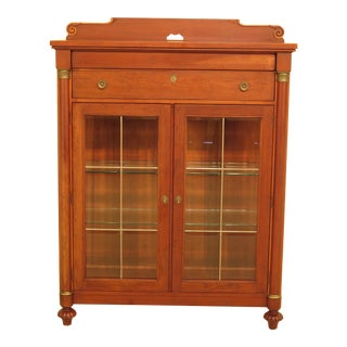 Lexington Empire Cherry Beveled Glass China Display Cabinet